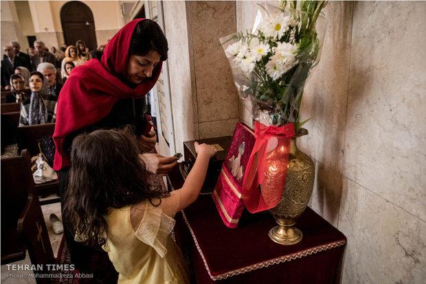 Christians mark Easter in Tehran