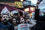 İstanbul'da referandum protestoları devam ediyor