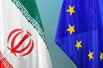 پرچم ایران و اتحادیه اروپا