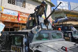 القوات العراقية تحرر  جامع المفتي ومحطة الكهرباء بحي 17 تموز بأيمن الموصل