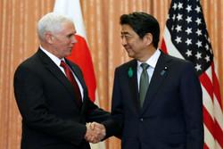 «پنس» در خصوص حمایت آمریکا از ژاپن در برابر کره شمالی اطمینان داد