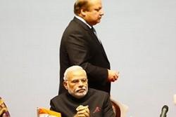 نارندارا مودی و نواز شریف نخست وزیران هند و پاکستان