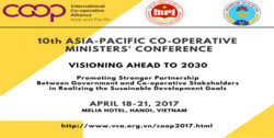 10th Asia Pacific Cooperative Ministers' Conference