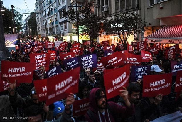 Türkiye'de referandum sonuçlarına karşı protestolar