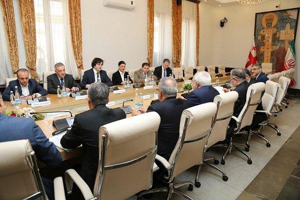 Zarif calls for closer trade, cultural ties with Georgia