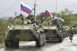 روسی فوجی پہلی بار رقہ میں پہنچ ہوگئے ہیں