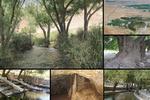 تفرج در کنار چشمهای باستانی؛ نسیم دلچسب بهاری ارمغان«نهر مسیح»