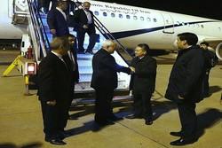 ظريف يزور قيرغيزيا