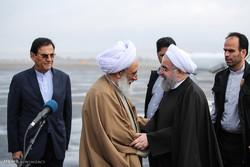 سفر حسن روحانی رئیس جمهور به آذربایجان شرقی