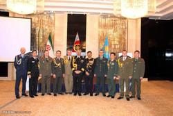 مراسم روز ملی ارتش در سفارت ایران در آستانه