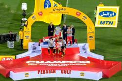 برسبوليس يحتفل بلقب الدوري الايراني بعد فوزه على بديدة مشهد