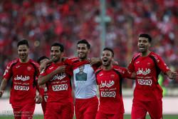 دیدار تیم های پرسپولیس تهران و پدیده مشهد