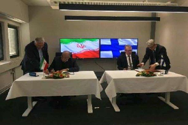Iran, Finland sign agreement on customs coop.