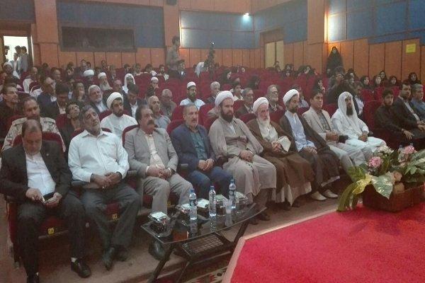 فعالان فرهنگی و خادمان نماز سیستان و بلوچستان تجلیل شدند