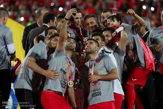 جشن قهرمانی پرسپولیس
