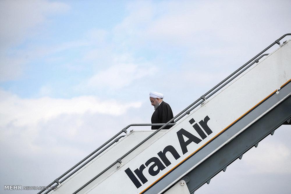 سفر رئیس جمهور به آذربایجان شرقی