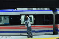 آیین افتتاح ایستگاه زندیه قطار شهری شیراز