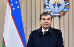 Uzbek president offers sympathies over flood in NW Iran