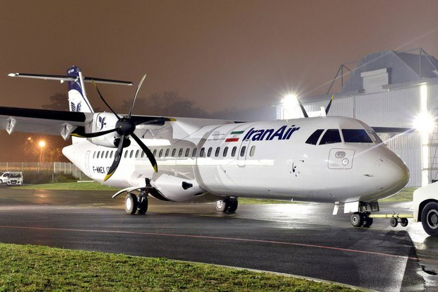 First ATR aircraft to land in Mehrabad on Friday