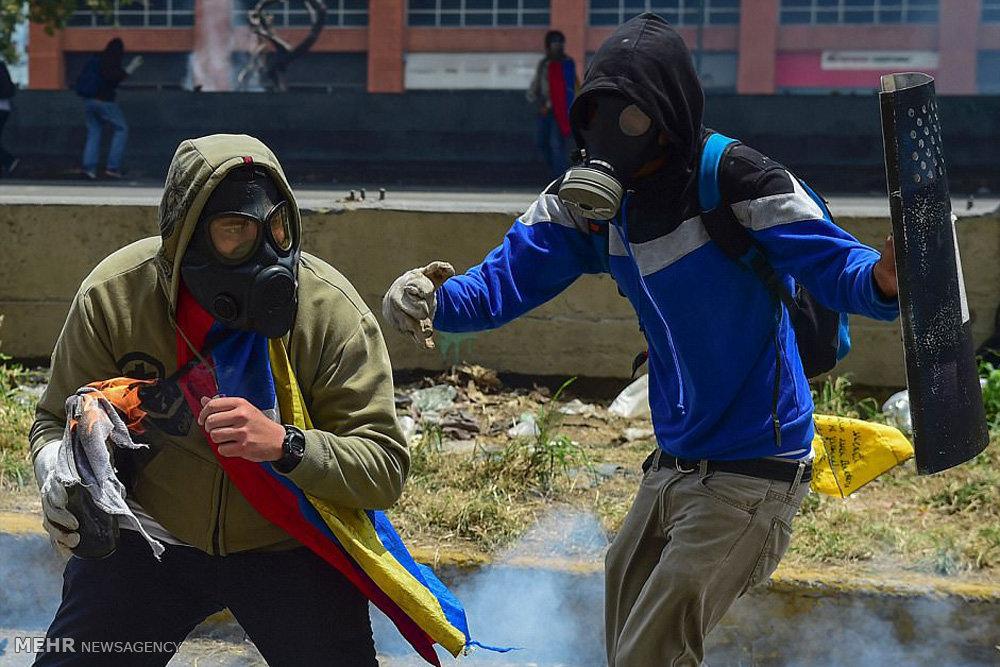 تظاهرات ضد دولتی در ونزوئلا