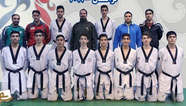 Iran vice-champion in Asian Junior Taekwondo C'ships