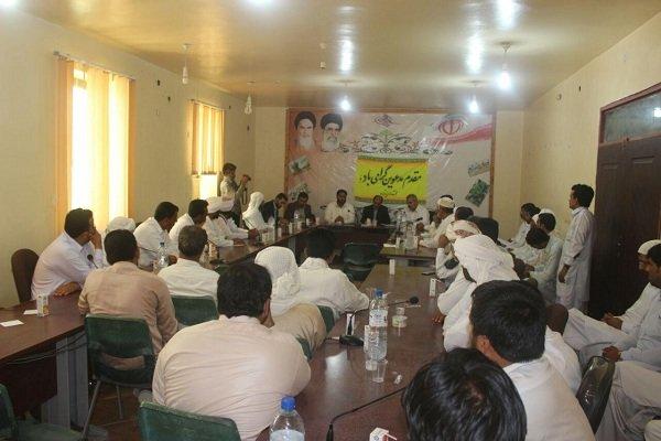 بازدید مدیر  کل آموزش فنی و حرفه ای سیستان و بلوچستان از بخش زرآباد
