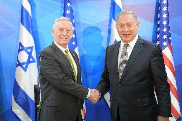 ماتیس و نتانیاهو