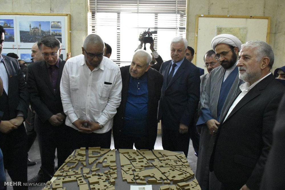 افتتاح نمایشگاه تصویری با حضور سفیر عراق در دانشگاه تهران
