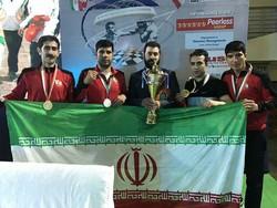 """ايران تحرز لقب الوصافة ببطولة العالم بلعبة """"الملاكمة والشطرنج"""""""