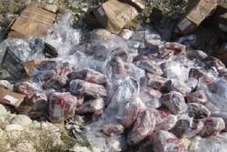 ۲۳۸ کیلو مرغ و ماهی فاسد در فردیس کشف و معدوم شد