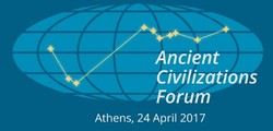 A poster for the Ancient Civilizations Forum