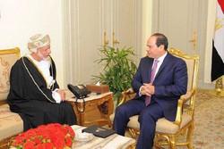 وزیر خارجه عمان با «عبدالفتاح السیسی» دیدار کرد