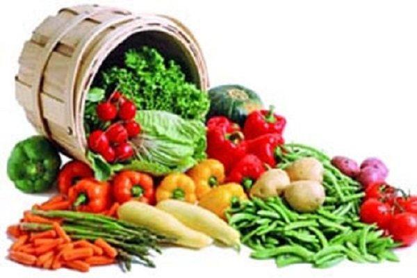 دیالیز, سبزیجات, میوه