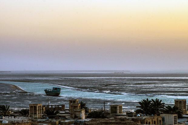Ancient Laft Port in Persian Gulf Island of Qeshm
