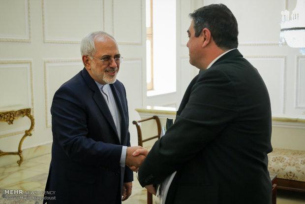 دیدار های امروز وزیر امور خارجه