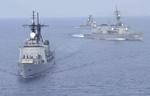 رزمایش دریایی  آمریکا ژاپن