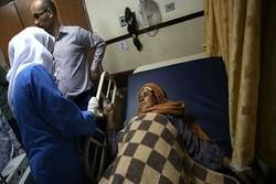 زخمی شدن زن فلسطینی