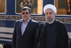 رئیس الجمهوریة يزور مدينة قزوين