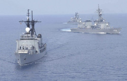 Iran, Russia hold joint naval drill