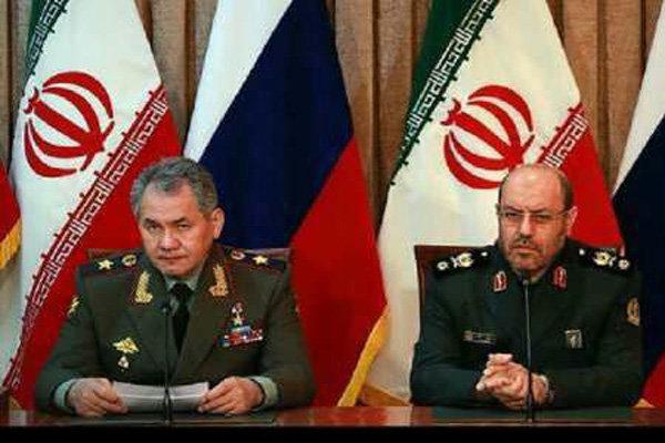 وزير الدفاع الايراني يلتقي نظيره الروسي في موسكو الاسبوع المقبل
