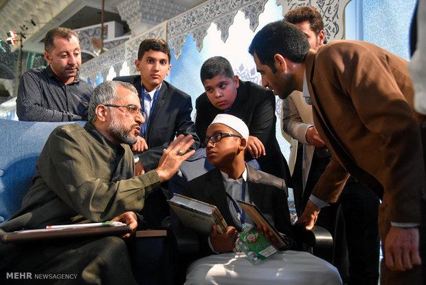 Kur'an-ı Kerim yarışmalarının üçüncü günü