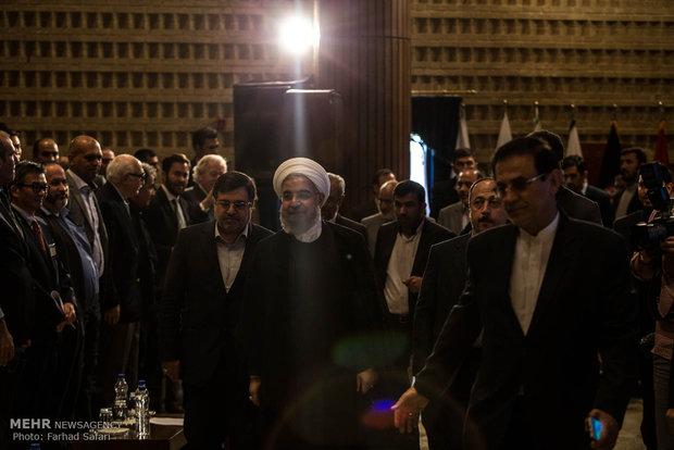 سفر حسن روحانی رئیس جمهور به استان قزوین