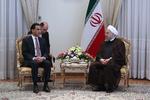 روحاني: نمتلك الامكانات المشتركة لتعزيز العلاقات مع باكستان