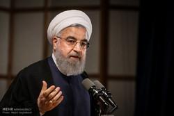 روحاني: أمريكا لن تستطيع تركيع الشعب الايراني
