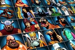 با ۵۰ شخصیت شاهنامه بازی موبایلی ساختیم