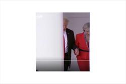 ترزا می و ترامپ