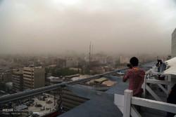 وزش باد شدید و طوفان در تهران