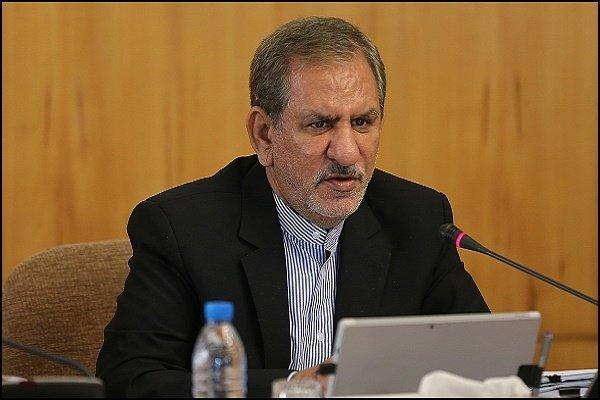اسحاق جهانغيري: قطعنا خطوات كبيرة لترسيخ الأمن والحرية في البلاد