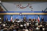 رہبر معظم سے اعلی حکام اور اسلامی ممالک کے سفراء کی ملاقات