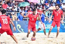 Mohammad Ahmadzadeh beach soccer